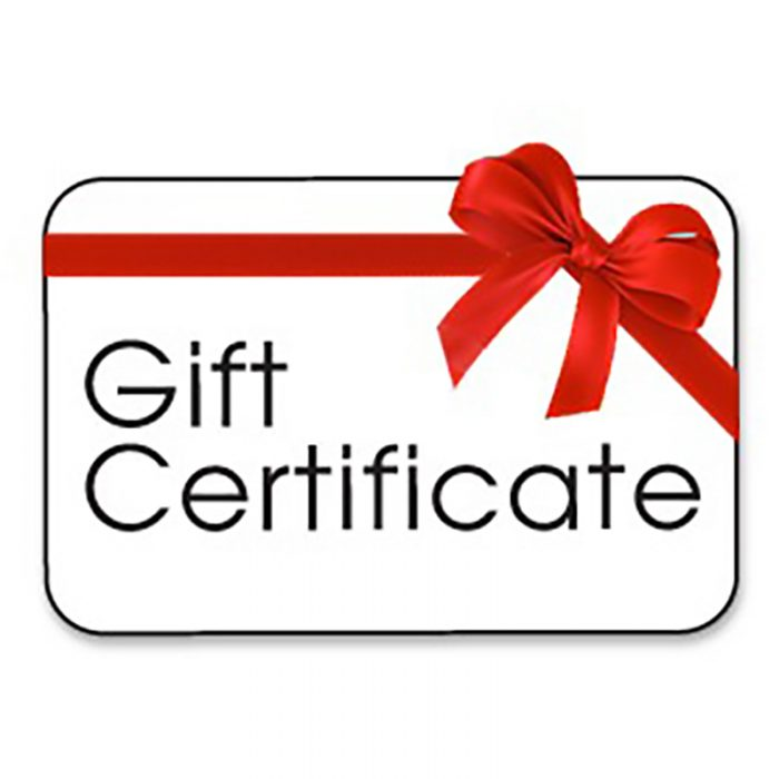 cast protector gift certificate