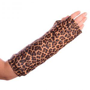 cheetah print arm cast cover