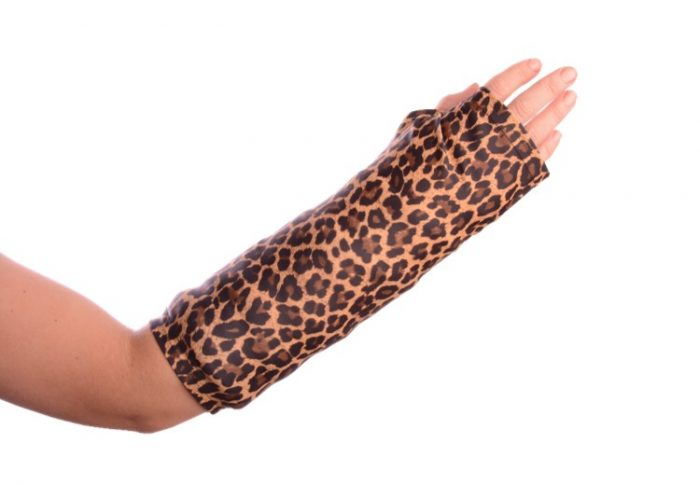 cheetah print arm cast cover