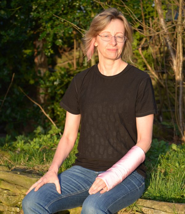 supersleeves arm cast cover soft pink
