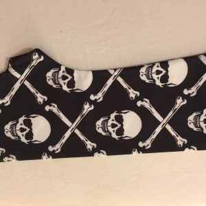 skull and bones arm cast cover